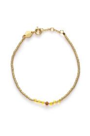 Bead &Gem Buttecup bracelet