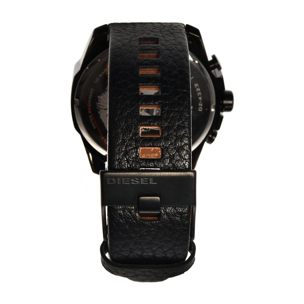 DIESEL Uhr | Diesel, Mega Chief watch Schwarz, Größe: One size
