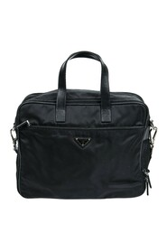 Pre-owned Double Zip Briefcase Bag