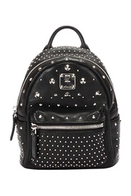 Pre-owned Studded Bebe Boo Leather Backpack