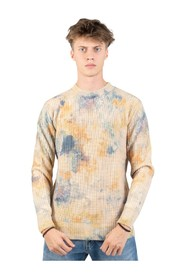 Stained effect sweater