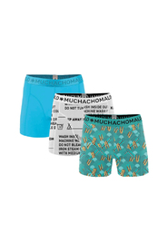 Muchachomalo 3-pack boys take care of your boxershorts, 176