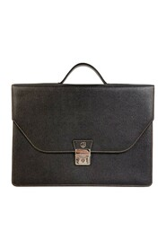 Leather Briefcase Work Bag