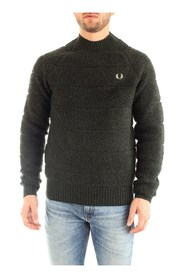 FRED PERRY K7513 JERSEY Men GREEN