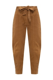 'Carmen' high-waisted trousers