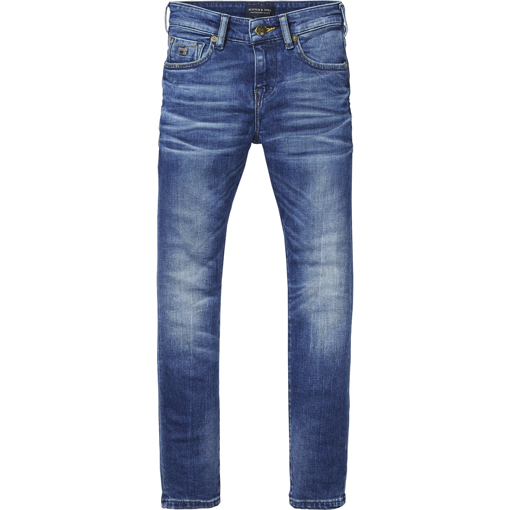 Scotch Shrunk Jeans Denim Blå