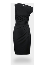 Asymmetrical fitted dress