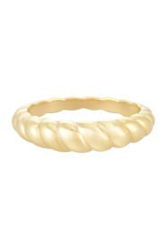 Golden Petit Croissant Ring