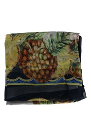 Pineapple Silk Scarf
