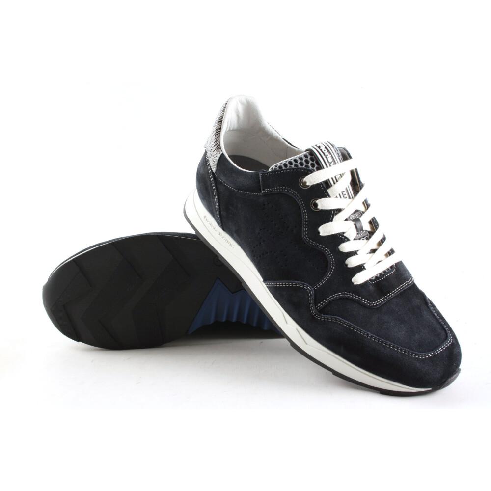 Blue Veterschoenen  16446/01   Floris van Bommel   Sneakers   Herenschoenen