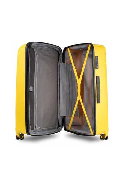Pacifica Luggage Superset M+l Vibrant Yellow | Conwood Walizki