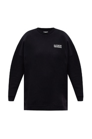 Oversize sweatshirt with logo