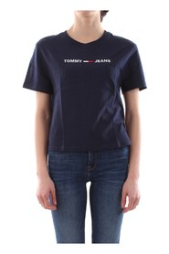 TOMMY JEANS DW0DW08062 MODERN TEE T SHIRT AND TANK Women NAVY