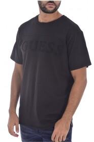 Tee shirt à gros logo en coton bio