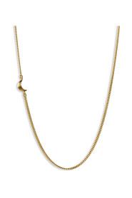 Half Moon Necklace, forgyldt sterlingsølv
