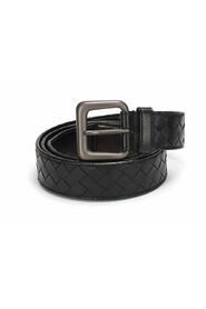 Pre-owned Intrecciato Leather Belt in calfskin leather