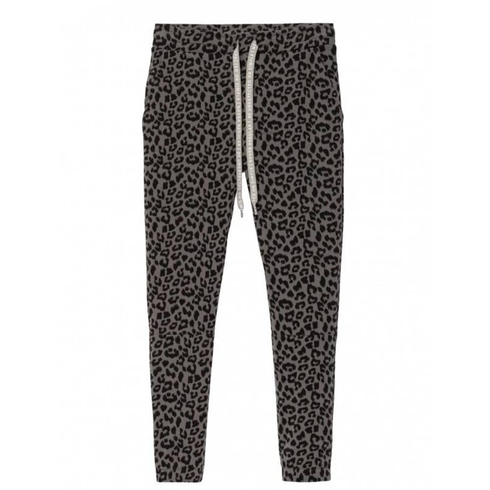 Cropped jogger leopard 20-018-8103