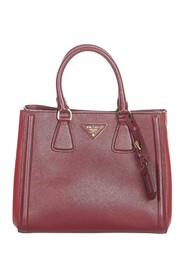 Pre-owned Saffiano Leather Satchel