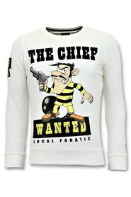 Sweatshirt The Chief Wanted
