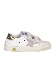 May touch-strap sneakers