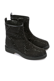 Ankle boot with Swarovski