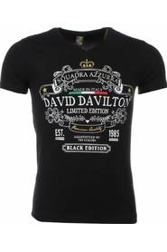 T-shirt - Black Edition Print