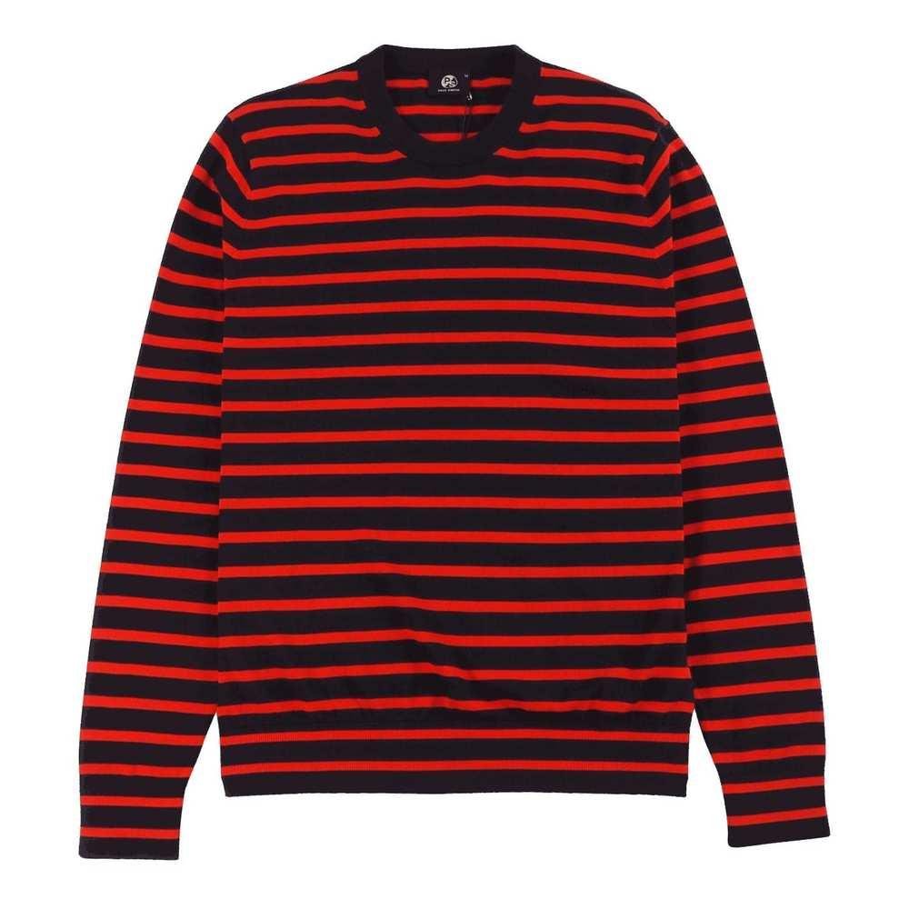 Breton-Stripe Cotton Sweater