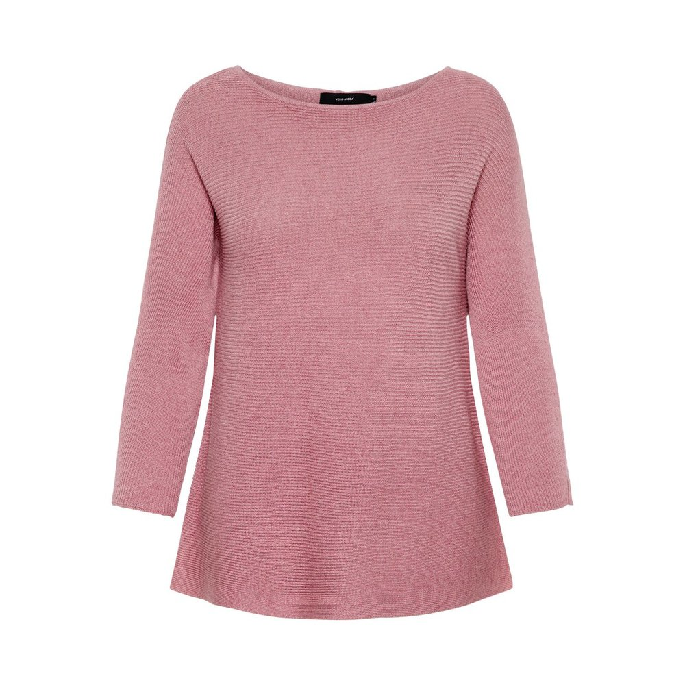 Knitted Pullover 3/4 Sleeved