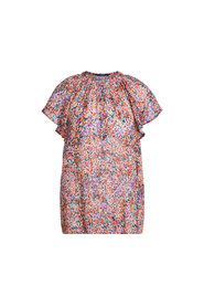 Blouse With Mille Fleurs Pattern - 34