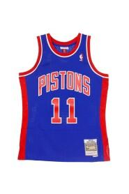 CANOTTA BASKET NBA SWINGMAN JERSEY HARDWOOD CLASSICS NO11 ISIAH THOMAS 1988-89 DETPIT ROAD