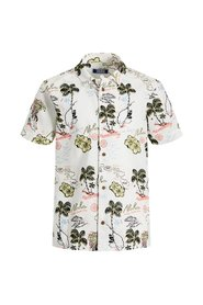 Short sleeved shirt Boys floral print