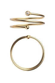 ONE DOT CURL RING