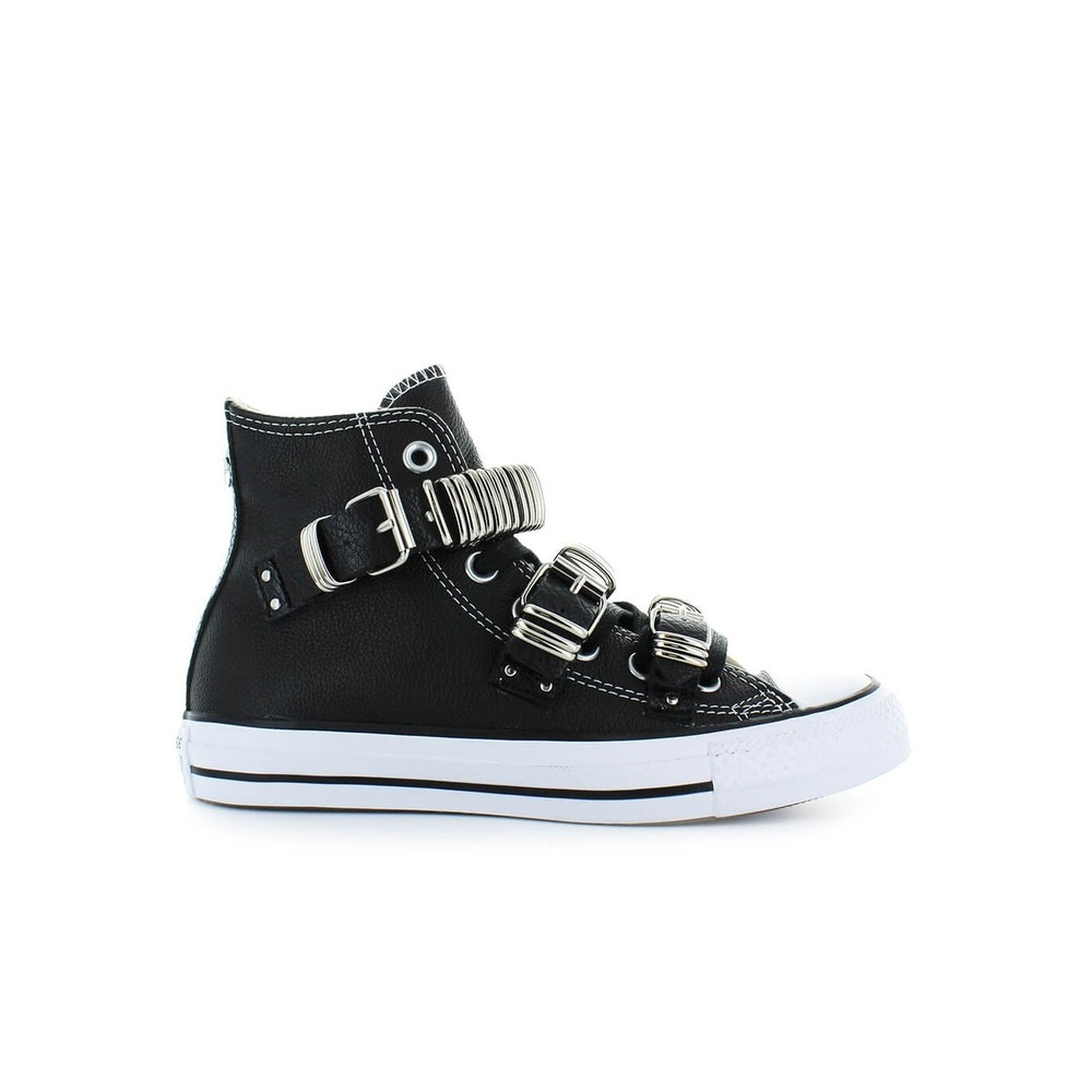PUNK METAL BUCKLE SNEAKER