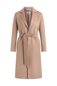Pauline uld wrap coat