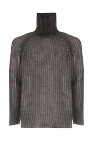 HIGH NECK COB STITCH PULLOVER