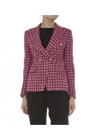 Jalicya check double-breasted blazer