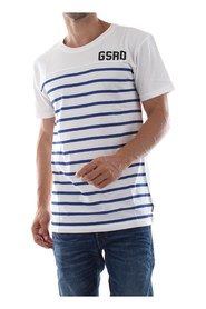 G-STAR D12864 B675 GRAPHIC 16 T SHIRT AND TANK Men BRIGHT WHITE
