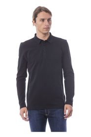 Embroidered Polo Shirt Long Sleeve
