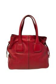 Leather Restyling D Bag Media Tote