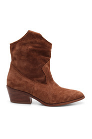 Arkansas Leather Ankle Boot