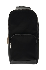 One-shoulder backpack with logo