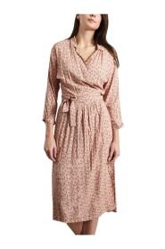 Arto Floral Wrap Dress