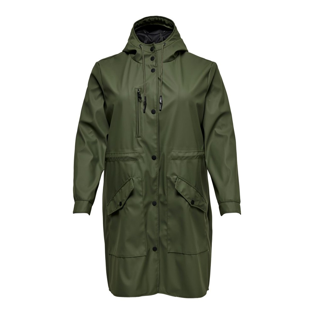 Rain jacket Curvy long