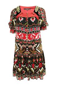 Print Dress Pre Owned Condition Very Good
