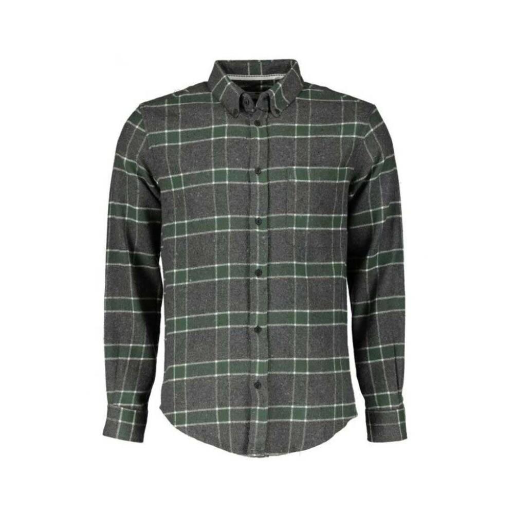 Aklouis check shirt M Anerkjendt