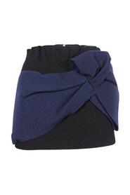 Wool-Felt Mini Skirt With Maxi Flower -Pre Owned Condition Excellent