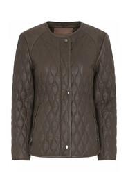 Holly Quilt Leather Jacket  42302/6872