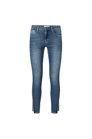 Skinny jeans with side stripes 120169-922