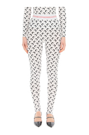 moon lozenge jersey leggings