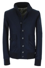 MEN'S JACKET WITH BUTTONS PATCH POCKETS
